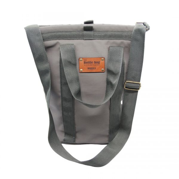 Wine bottle carrier bag by Madala Bags