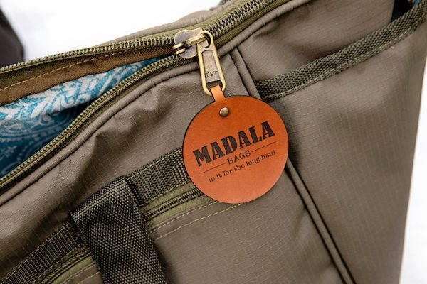 Madala handmade fabric bags - The Zippy Tub Bag