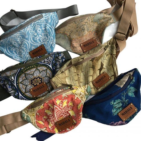 The Moon Bag handmade fabric bags by Madala Bags