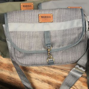 Handmade fabric shoulder bag by Madala Bags